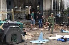 Một cặp vợ chồng Indonesia là thủ phạm vụ đánh bom tại Philippines