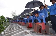 Đồng Tháp: Truy điệu, an táng 99 hài cốt liệt sỹ hy sinh tại Campuchia
