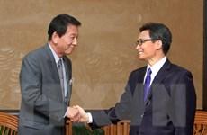 Phó Thủ tướng Vũ Đức Đam tiếp Đại sứ đặc biệt Việt Nam-Nhật Bản