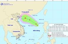 Biển Đông xuất hiện vùng áp thấp, có khả năng mạnh lên thành bão