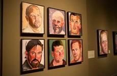 Triển lãm tranh của cựu Tổng thống Bush về các quân nhân Mỹ