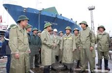 Công tác phòng, chống bão số 3 Wipha tại Quảng Ninh, Tuyên Quang