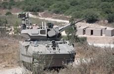 Israel chế tạo mẫu xe bọc thép tối tân với màn hình cảm ứng