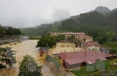 Lào Cai: Mưa lớn gây sạt lở, ngập úng trường học vùng cao Si Ma Cai