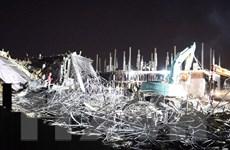 Hải Phòng: Công trình bị sập giàn giáo tối 8/8 xây dựng trái phép