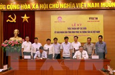 Thông tấn xã Việt Nam và tỉnh Vĩnh Phúc hợp tác truyền thông