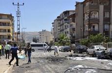 Thổ Nhĩ Kỳ: Nổ lớn rung chuyển kho dạn dược gần biên giới với Syria