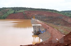 Mực nước hồ thủy điện Đắk Kar tiếp tục giảm về mức an toàn