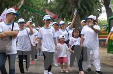 TP.HCM: Hơn 5.000 người dân đi bộ đồng hành vì nạn nhân da cam