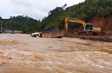 Lâm Đồng: Mưa giảm, nước rút nhiều trên các địa bàn xảy ra ngập lụt