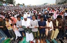 Người Hồi giáo ở Ai Cập chào đón lễ hiến sinh Eid Al-Adha