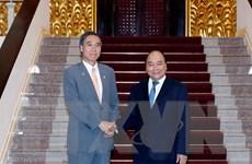 Thủ tướng Nguyễn Xuân Phúc tiếp Thống đốc tỉnh Nagano của Nhật Bản