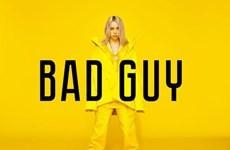 Billie Eilish lên ngôi vương Billboard với ca khúc 'Bad Guy'