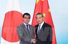 Nhật-Trung xác nhận tăng cường phát triển hơn nữa quan hệ