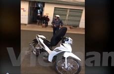 Xác minh clip về ba đối tượng giả danh công an chặn xe người dân