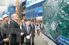 Thủ tướng Scott Morrison ấn tượng về đường đua Công thức 1 Hà Nội