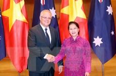 Chủ tịch Quốc hội hội kiến Thủ tướng Australia Scott Morrison