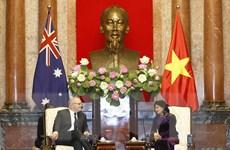 Phó Chủ tịch nước Đặng Thị Ngọc Thịnh hội kiến Thủ tướng Australia