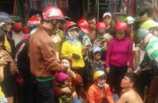Đắk Nông: Chở người đi cấp cứu va quệt vào xe cảnh sát giao thông