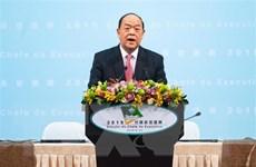 Ông Hạ Nhất Thành đắc cử Trưởng Đặc khu Hành chính Macau