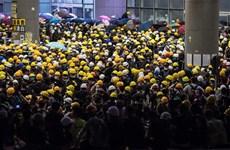 Hong Kong lên án các hành động bạo lực của người biểu tình cực đoan