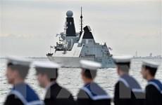 Hải quân Anh tiếp tục cử tàu chiến thứ ba tới vùng Vịnh