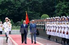 Hình ảnh Lễ đón Thủ tướng Malaysia Mahathir Mohamad