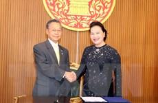Chủ tịch Quốc hội hội đàm với Chủ tịch Hạ viện Thái Lan
