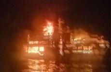Cháy phà chở khách tại Philippines, hai người thiệt mạng