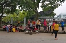 Gần 2.000 công nhân công ty NamYang Delta đã đi làm trở lại