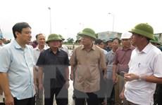 Bộ trưởng Nguyễn Xuân Cường kiểm tra công tác ứng phó bão tại Nghệ An