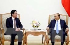Thủ tướng Nguyễn Xuân Phúc tiếp Đại sứ Campuchia đến chào từ biệt