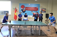 Sôi động giải bóng bàn của người Việt tại Liên bang Nga