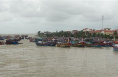 Vịnh Bắc Bộ, vùng biển từ Quảng Trị đến Quảng Ngãi gió giật cấp 9