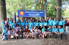 Tăng cường tình đoàn kết nhân ngày Ngày Gia đình ASEAN tại Italy