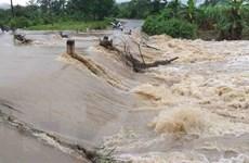 Tuyên Quang: Đi qua cầu tràn, 3 người trong gia đình bị lũ cuốn trôi