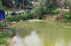 Nam Định: Hai học sinh tử vong do đuối nước khi tắm tại cửa cống