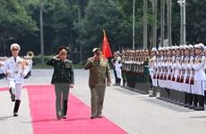 Quan hệ quốc phòng Việt Nam-Cuba tiếp tục là điểm sáng giữa hai nước