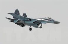 Nga điều Su-35 biểu diễn tại liên hoan hàng không vũ trụ ở Thổ Nhĩ Kỳ