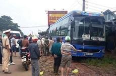 Đắk Nông: Xe khách vượt ẩu gây tai nạn, hai người tử vong