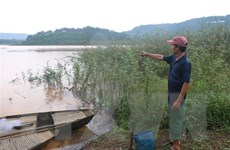 Bình Phước: Đi tắm hồ, ba nam sinh đuối nước thương tâm