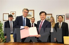Việt Nam và Italy tăng cường hợp tác phòng chống tham nhũng