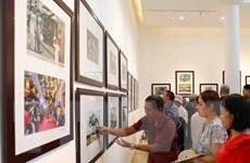 Triển lãm trưng bày những hình ảnh sống động về Hà Nội