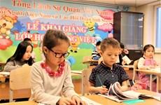 Dạy tiếng Việt cho người Việt tại Nga: Gian nan 'gieo chữ' ở xứ người