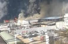 Cháy nhà máy tại Trung Quốc khiến nhiều người thiệt mạng