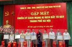 Hà Nội tổ chức gặp mặt chiến sỹ cách mạng bị địch bắt tù đày