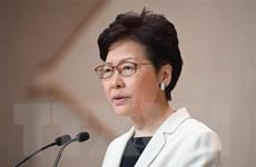 Lãnh đạo Hong Kong tổ chức họp báo sau đợt biểu tình cuối tuần
