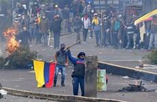 Ecuador: Thủ đô Quito ban bố tình trạng khẩn cấp do biểu tình