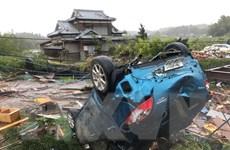 Hình ảnh siêu bão Hagibis gây ngập lụt, tàn phá tại Nhật Bản