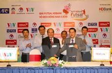 Giải Futsal HDBank Vô địch Đông Nam Á 2019 diễn ra tại TP.HCM